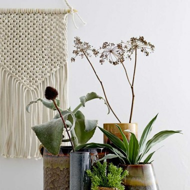 Macramé pared Indi
