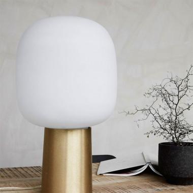 Lámpara de sobremesa Note, blanco