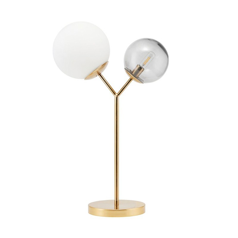 Lámpara sobremesa Twice, bronce