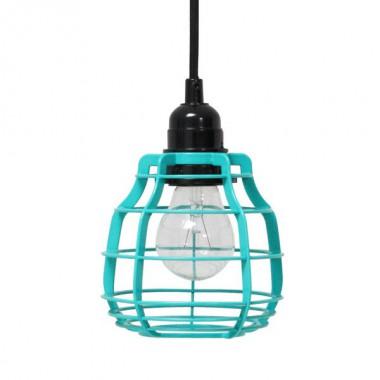 Lámpara Lab verde turquesa