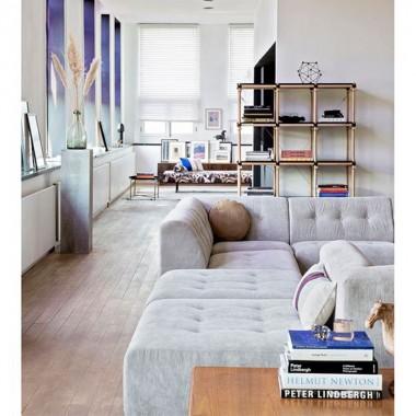 Sofá modular Vint, gris