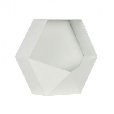 Estante Hexágono, blanco