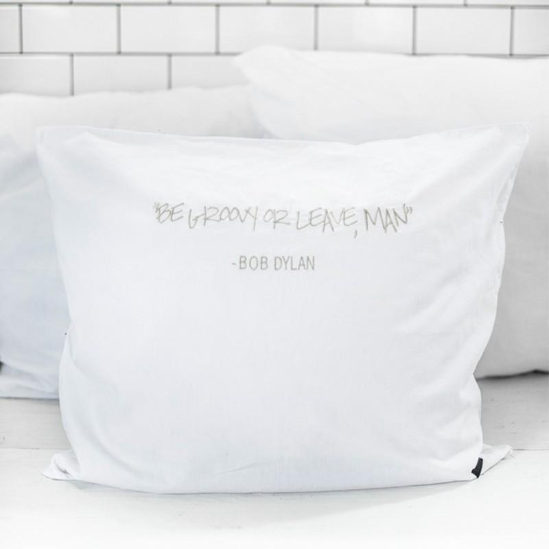 Funda cojín Dylan 50x60cm, blanco
