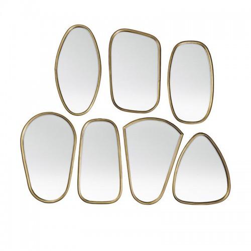 Set espejos Art, latón