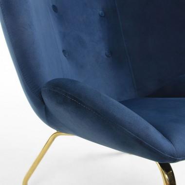 Butaca Verne, azul