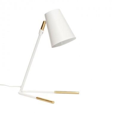 Lámpara de sobremesa Tao, blanco