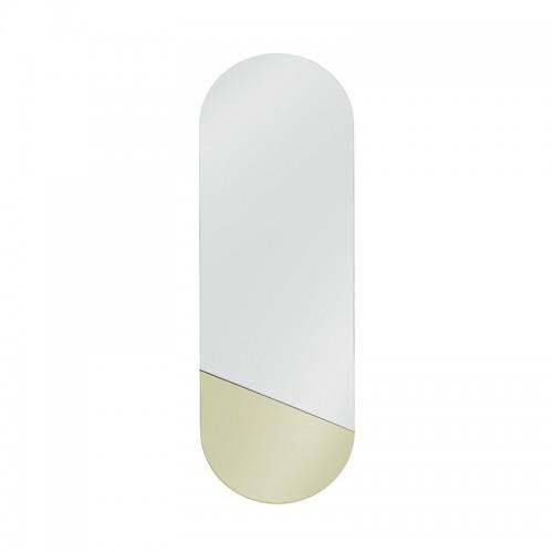 Espejo Geometric M, dorado