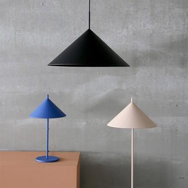 Lámpara de pie Angle, nude