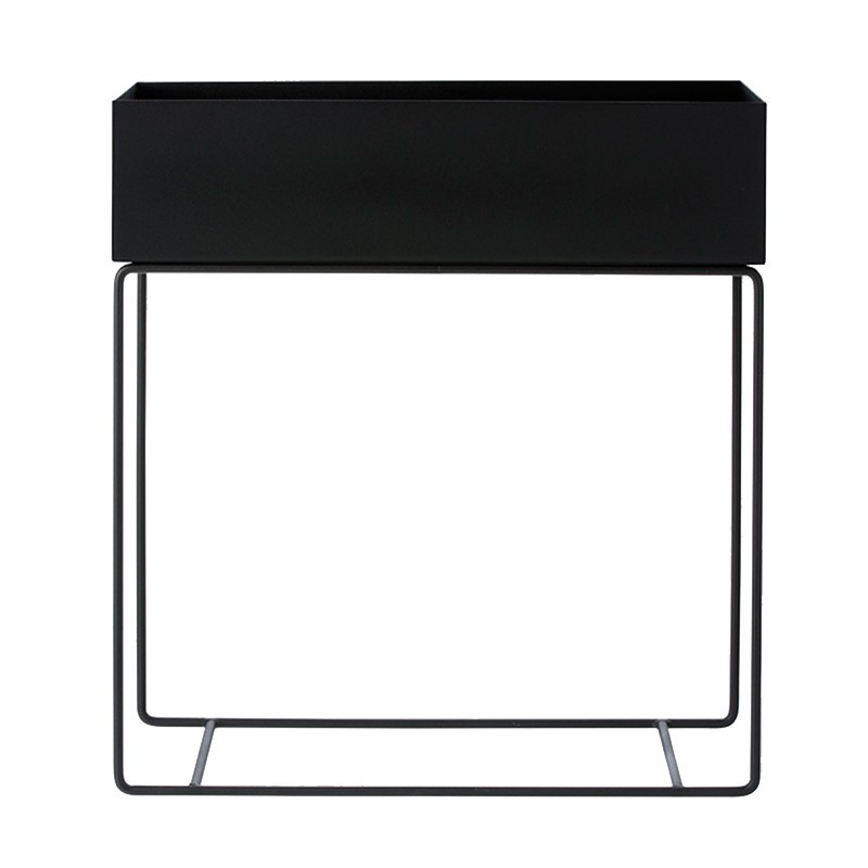 Macetero Box, negro