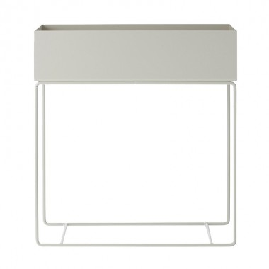 Macetero Box, blanco