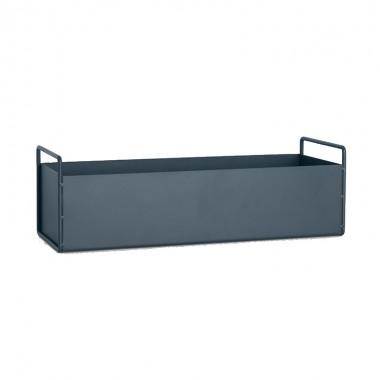 Macetero Box, gris oscuro S