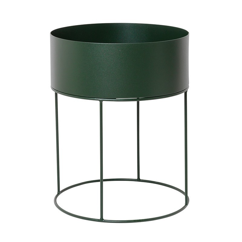 Macetero Round, verde