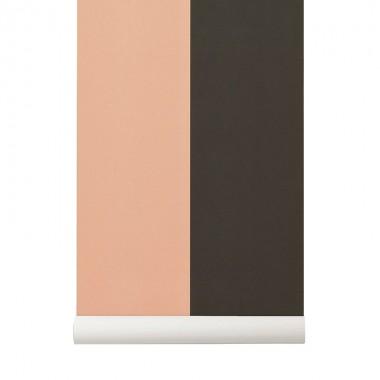 Papel Pintado Thick, rosa-verde