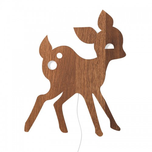 Aplique Deer, madera