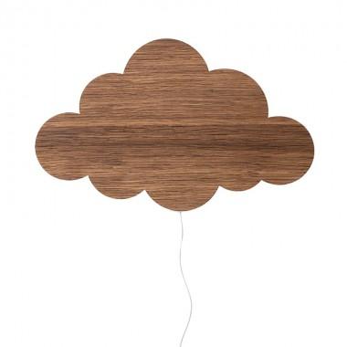 Aplique Cloud, madera