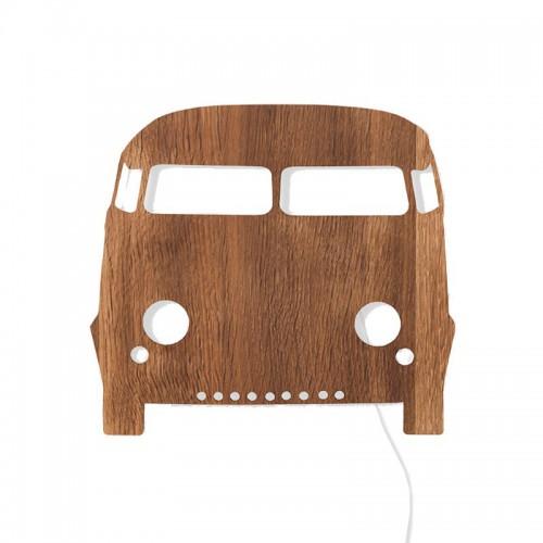 Aplique Bus, madera