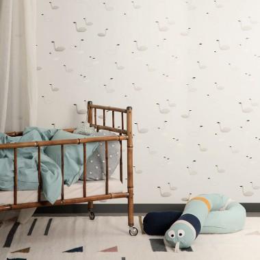 Ropa de cama Hush, azul