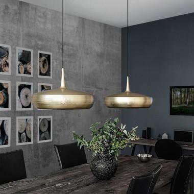 Cable lámpara techo Conic, negro