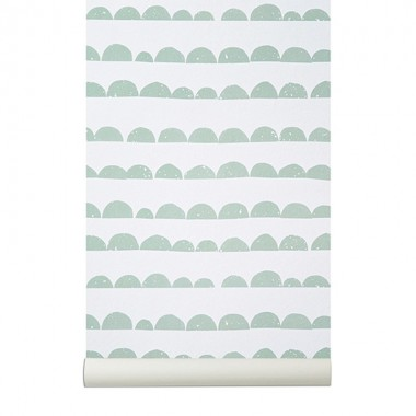Papel Pintado Moon, mint
