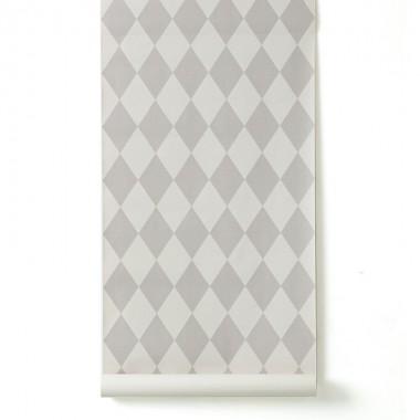 Papel Pintado Harlequín, gris