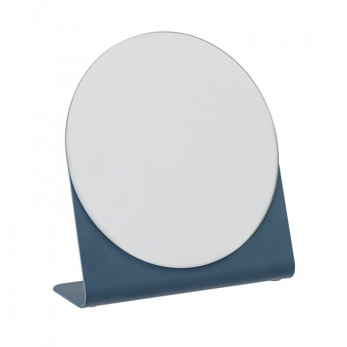 Espejo sobremesa Newton, azul
