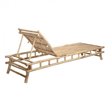Tumbona Sole, bambú