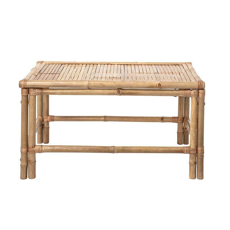 Mesa auxiliar Sole, bambú