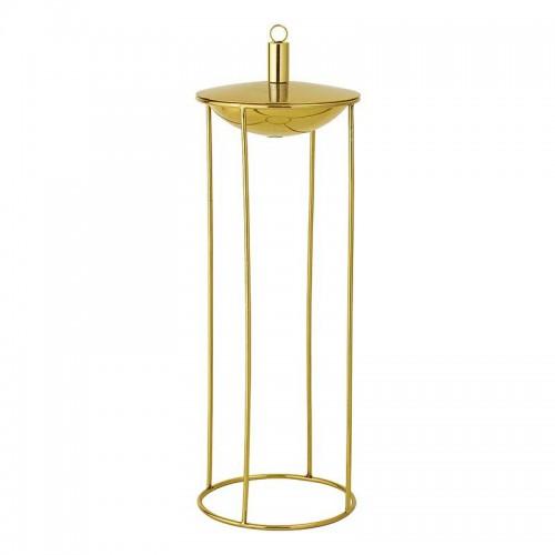 Lámpara de aceite Gisele, bronce