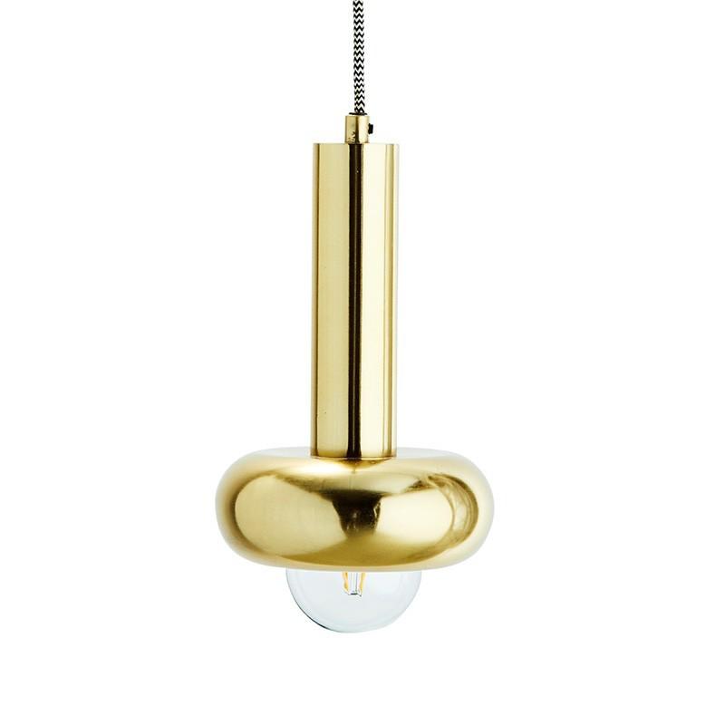 Lámpara de techo Bell, latón
