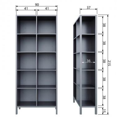 Librería Laura, negro