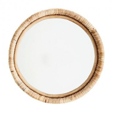 Espejo Bambú Ø30cm