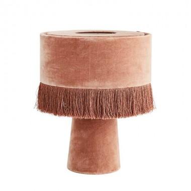 Lámpara de sobremesa Velvet, rosa