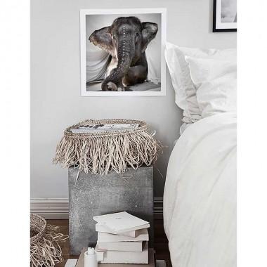 "Photo art ""Elephant Adelle"""