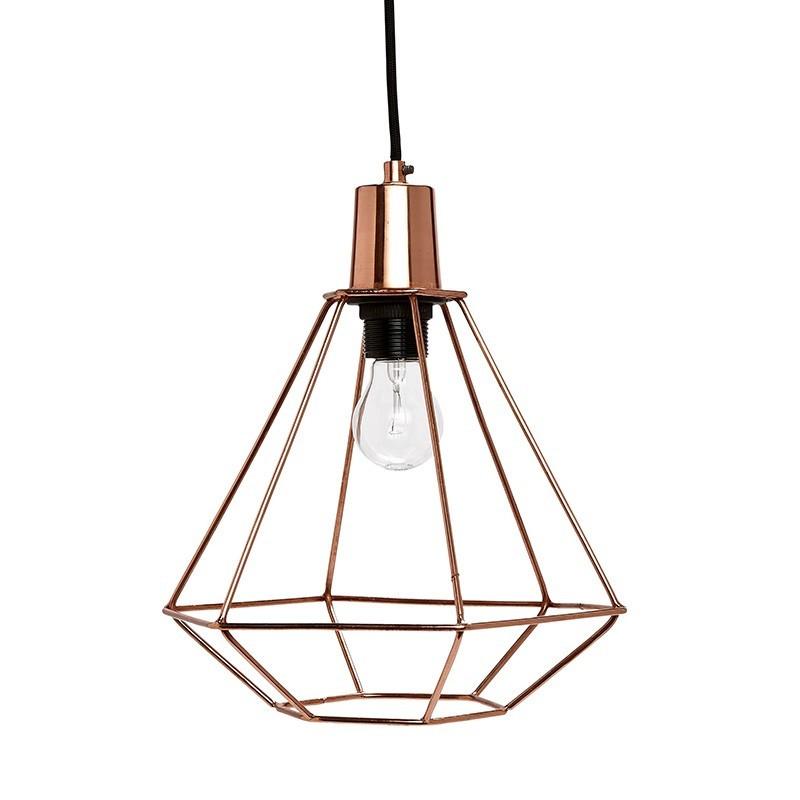 Lámpara Diamonespaicobre