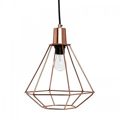 Lámpara Diamond, cobre