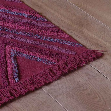 Alfombra Savannah red, 170x240cm