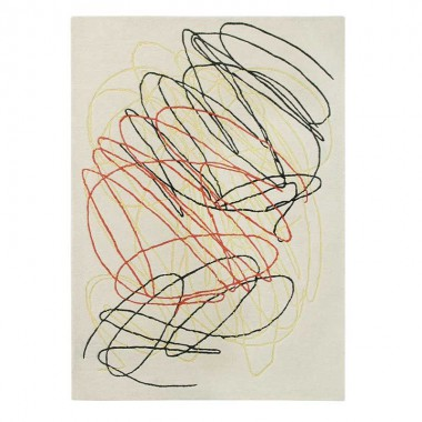 Alfombra Wool scribble, 170x240cm