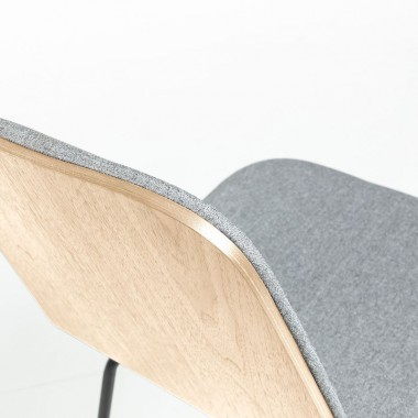 Silla Cane, gris