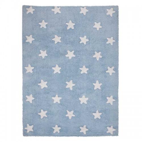 Alfombra Stars azul, 120x160cm