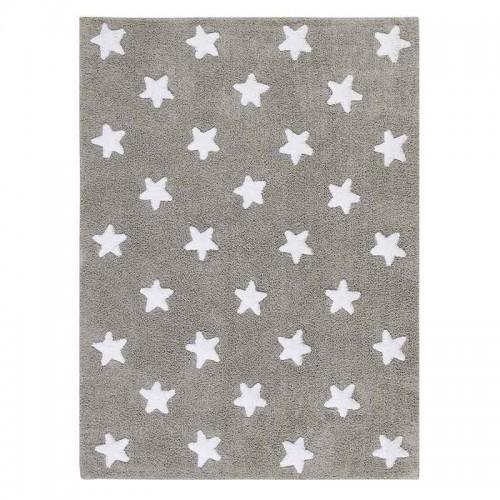 Alfombra Stars gris, 120x160cm