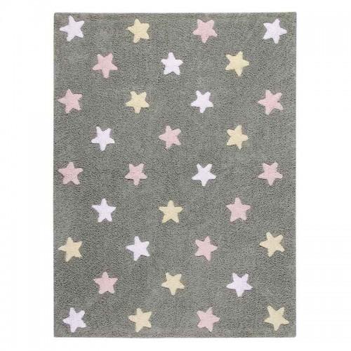 Alfombra Stars tricolor, 120x160cm