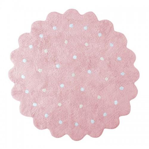 Alfombra Biscuit pink Ø140cm
