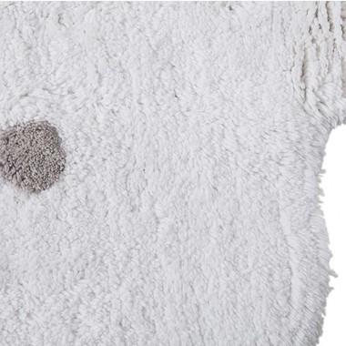 Alfombra Biscuit blanco Ø140cm