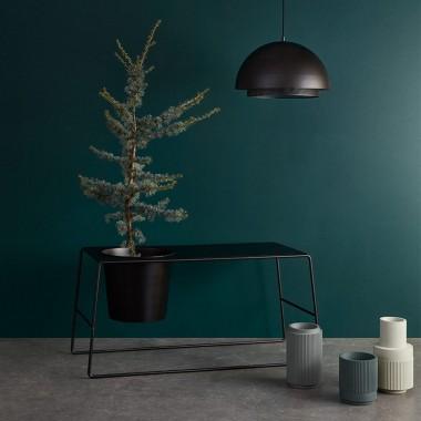 Lámpara de techo Halan, negro