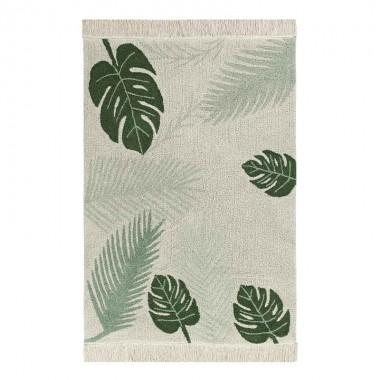 Alfombra Tropical green, 140x200cm