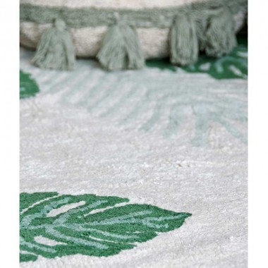 Alfombra Tropical green, 140x200cm