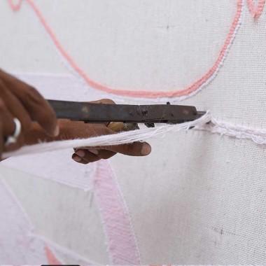 Alfombra Wool Lola, 150x160cm