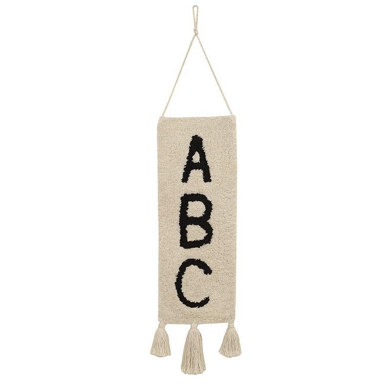 Decoración pared ABC