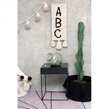 Decoración pared ABC