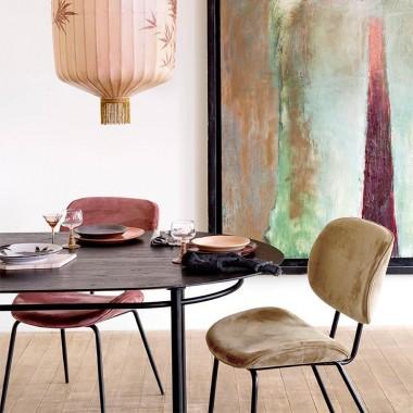 Mesa de comedor Oval, 200x100cm
